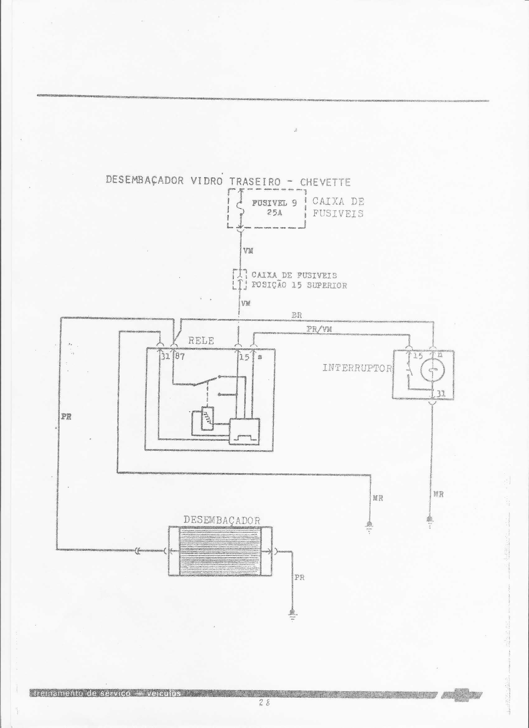 esquema el trico do chevette rh chevetteiroscuritiba com br Para Que Sirve El Alternador Dibujo De Alternador